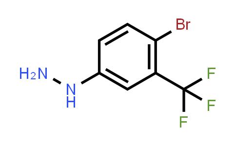 [4-Bromo-3-(trifluoromethyl)phenyl]hydrazine