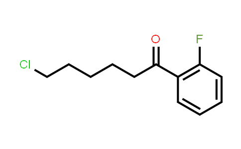 6-Chloro-1-(2-Fluorophenyl)-1-Hexanone