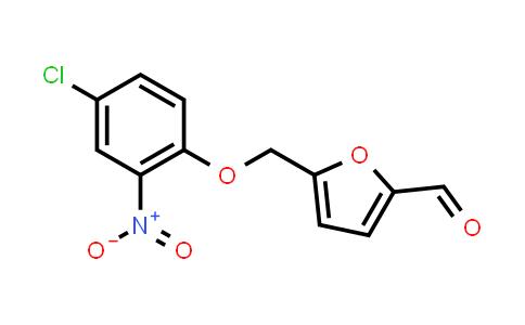 5-[(4-Chloro-2-nitrophenoxy)methyl]-2-furaldehyde