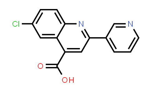 6-Chloro-2-pyridin-3-ylquinoline-4-carboxylic acid