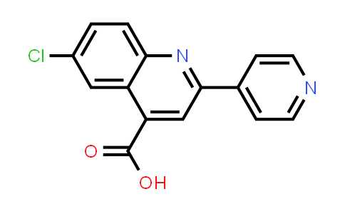 6-Chloro-2-pyridin-4-ylquinoline-4-carboxylic acid
