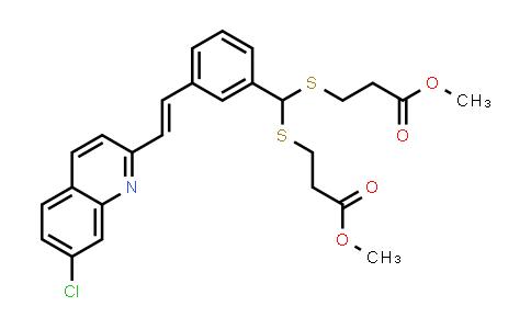 3,3'-[[[3-[(1E)-2-(7-Chloro-2-quinolinyl)ethenyl]phenyl]methylene]bis(thio)]bis-propanoic acid 1,1'-dimethyl ester