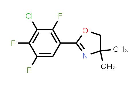 2-(3-Chloro-2,4,5-Trifluorophenyl)-4,4-Dimethyl-4,5-Dihydro-1,3-Oxazole