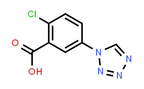 2-Chloro-5-(1H-tetrazol-1-yl)benzoic acid
