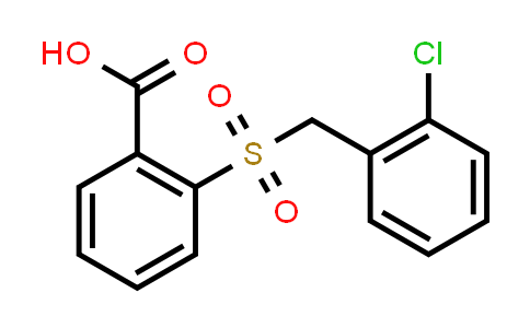 2-[(2-Chlorobenzyl)sulfonyl]benzoic acid