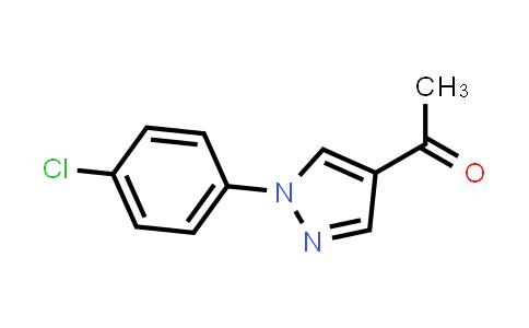1-[1-(4-Chlorophenyl)-1H-pyrazol-4-yl]ethanone