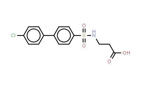 n-[(4'-chloro[1,1'-biphenyl]-4-yl)sulfonyl]-beta-alanine