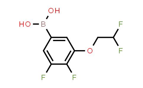 [3-(2,2-Difluoroethoxy)-4,5-difluorophenyl]boronic acid