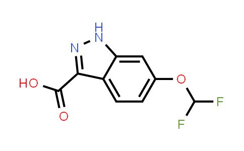 6-Difluoromethoxyindazole-3-carboxylic acid