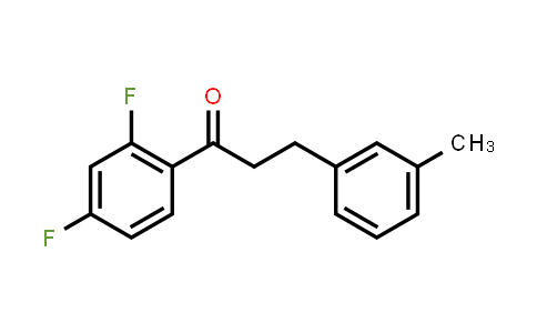 1-(2,4-Difluorophenyl)-3-(3-methylphenyl)-1-propanone