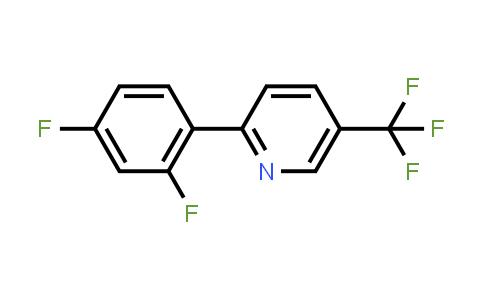 2-(2,4-Difluorophenyl)-5-(trifluoromethyl)pyridine