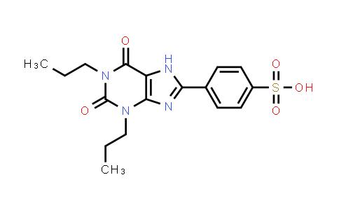 1,3-Dipropyl-8-p-sulfophenylxanthine