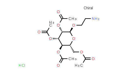 2-Aminoethyl 2,3,4,6-tetra-O-acetyl-α-D-mannopyranoside HCl