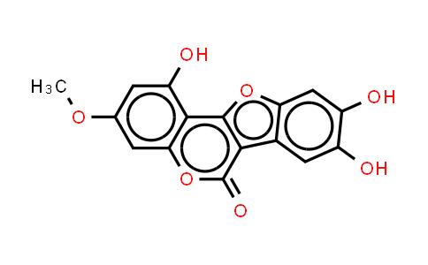 7-甲氧基-5,11,12- 三羟基香豆素
