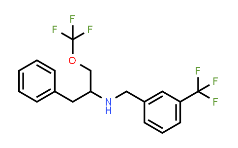 (1-Benzyl-2-trifluoromethoxy-ethyl)-(3-trifluoromethyl-benzyl)-amine