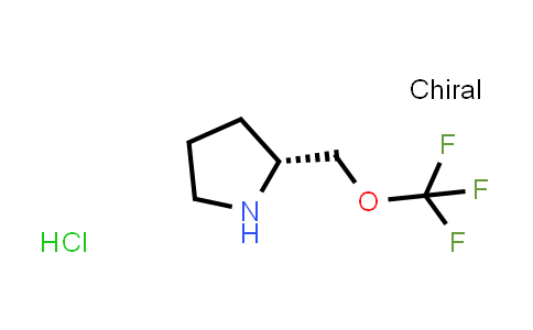 (2R)-2-(Trifluoromethoxymethyl)pyrrolidine hydrochloride