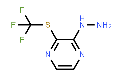 (3-Trifluoromethylsulfanyl-pyrazin-2-yl)-hydrazine