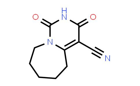 1,3-Dioxo-6,7,8,9-tetrahydro-5H-pyrimido[1,6-a]azepine-4-carbonitrile