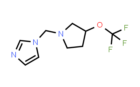 1-(3-Trifluoromethoxy-pyrrolidin-1-ylmethyl)-1Himidazole