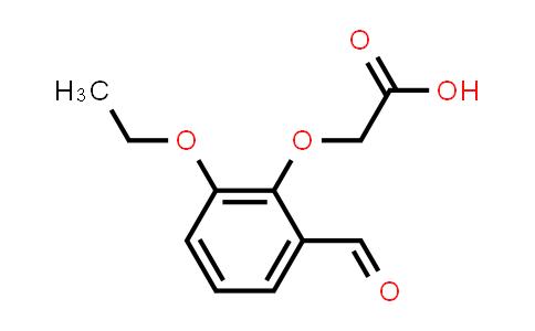 2-(2-Ethoxy-6-formyl-phenoxy)acetic acid