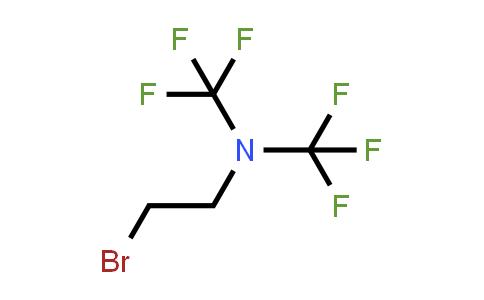 2-Bromo-N,N-bis(trifluoromethyl)ethylamine