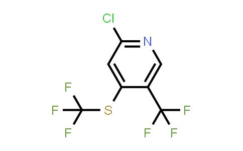 2-Chloro-4-trifluoromethylsulfanyl-5-trifluoromethyl-pyridine