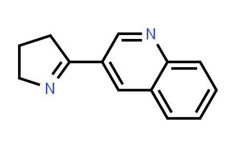 3-(4,5-Dihydro-3H-pyrrol-2-yl)-quinoline