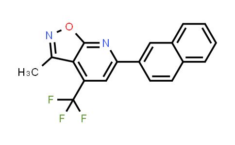 3-methyl-6-(2-naphthyl)-4-(trifluoromethyl)isoxazolo[5,4-b]pyridine
