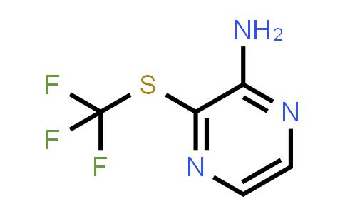3-Trifluoromethylsulfanyl-pyrazin-2-ylamine