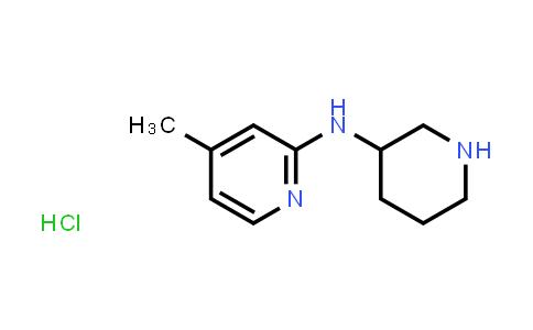 4-methyl-N-(3-piperidyl)pyridin-2-amine hydrochloride