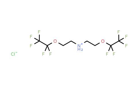 Bis-(2-pentafluoroethyloxy-ethyl)-ammonium chloride