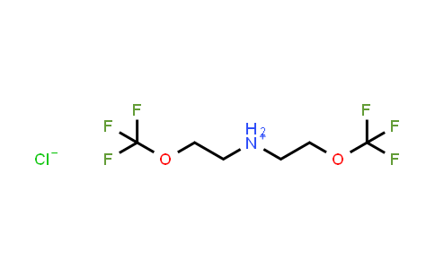 Bis-(2-trifluoromethoxy-ethyl)-ammonium chloride