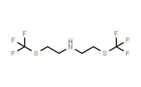 Bis-(2-trifluoromethylsulfanyl-ethyl)-amine