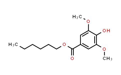 Hexyl 4-hydroxy-3,5-dimethoxybenzoate