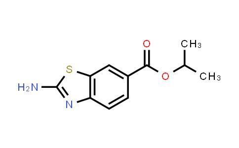 Isopropyl 2-amino-1,3-benzothiazole-6-carboxylate