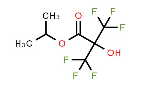 Isopropyl 2-hydroxy-3,3,3-trifluoro-2-(trifluoromethyl)propionate