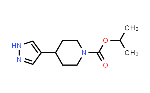 Isopropyl 4-(1H-pyrazol-4-yl)piperidine-1-carboxylate