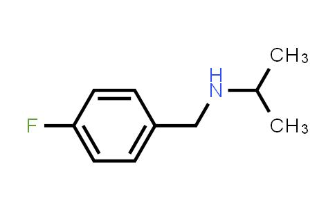 N-[(4-fluorophenyl)methyl]propan-2-amine