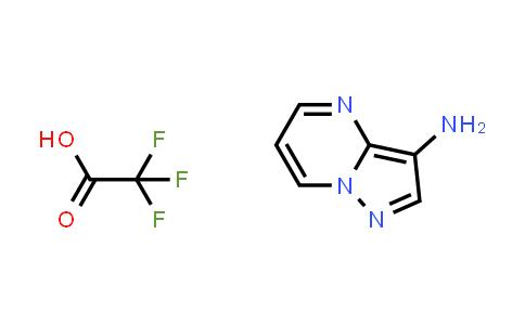 Pyrazolo[1,5-a]pyrimidin-3-amine; 2,2,2-trifluoroacetic acid