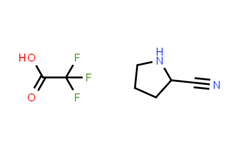 Pyrrolidine-2-carbonitrile 2,2,2-trifluoroacetic acid