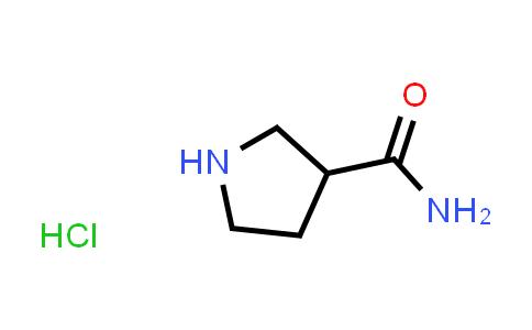 Pyrrolidine-3-carboxamide hydrochloride