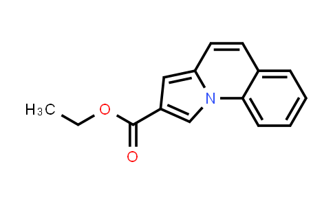 Pyrrolo[1,2-a]quinoline-2-carboxylic acid ethyl ester