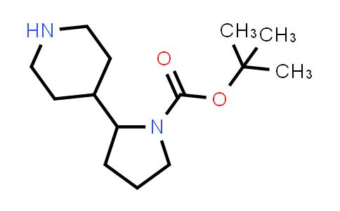 tert-Butyl 2-(4-piperidyl)pyrrolidine-1-carboxylate