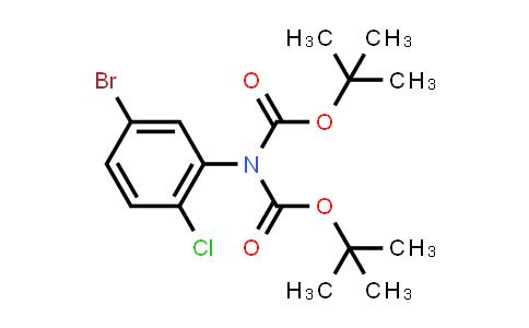 tert-butyl N-(5-bromo-2-chloro-phenyl)-N-tert-butoxycarbonyl-carbamate