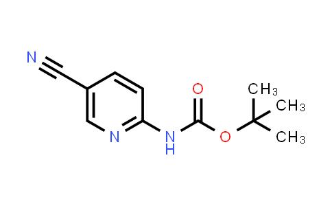 tert-butyl N-(5-cyano-2-pyridyl)carbamate