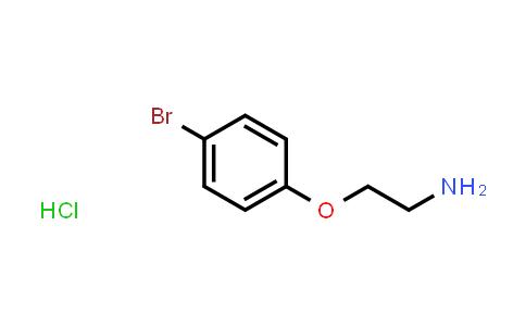 [2-(4-Bromophenoxy)ethyl]amine hydrochloride