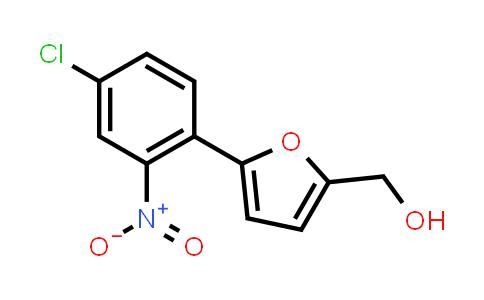 [5-(4-chloro-2-nitro-phenyl)-2-furyl]methanol