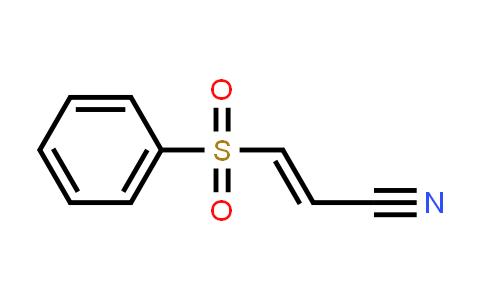 (E)-3-(benzenesulfonyl)prop-2-enenitrile