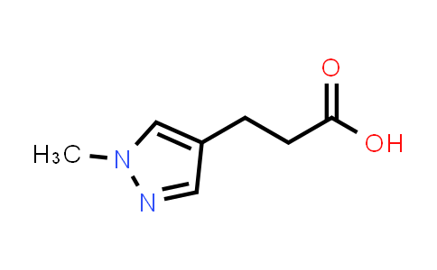 3-(1-Methylpyrazol-4-yl)propanoic acid