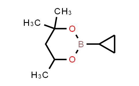 Cyclopropylboronic acid, hexylene glycol cyclic ester